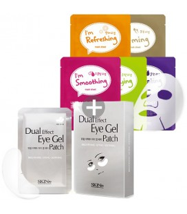 Dual Effect Eye Gel Patch + Pack Color Mask