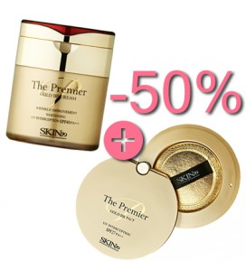 The Premier BB Cream + The Premier Gold BB Pactier Gold BB C