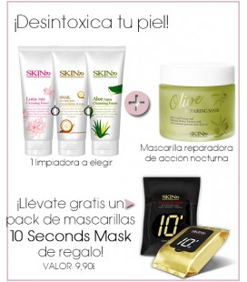 PACK CLEANSING FOAM + MASK