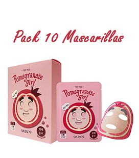 Pack 10 Mascarillas-Pomegranate Girl Fruit Mask