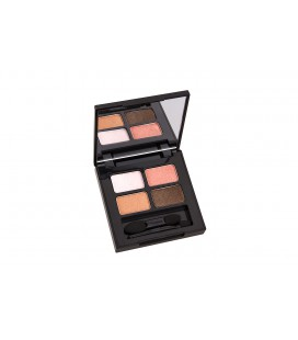 ECO 4 COLOR EYE SHADOW - CORAL BROWN