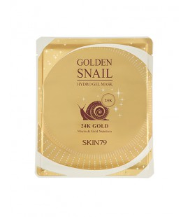 GOLDEN SNAIL GEL MASK - 24K