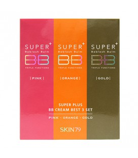 Set Minitallas BB Cream [Hot Pink & Vital Orange & Vip Gold]