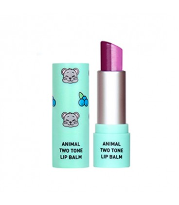 ANIMAL TWO-TONE LIP BALM