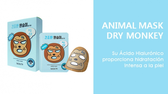 * SKIN79 ANIMAL MASK - DRY MONKEY *