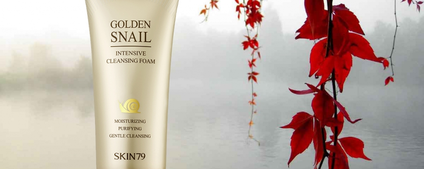 *GOLDEN SNAIL INTENSIVE CLEANSING FOAM*