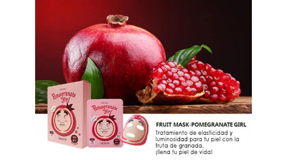 *FRUIT MASK-POMEGRANATE GIRL*