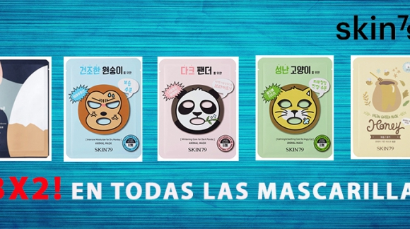 ¡Rebajas de 3x2 en Make-up y Mascarillas!